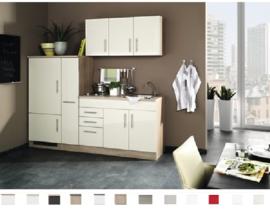 Keuken Toronto crème 210 cm Incl. Inbouwapparatuur HRG-5850