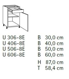 Komfort U306-8E
