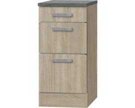 Kabinet Napels acacia-Decor (BxHxD) 40,0x84,8x60,0 cm HRG-00119