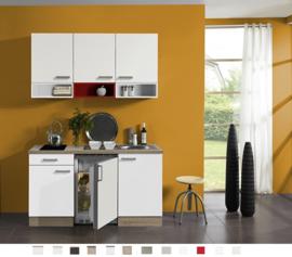 Kitchenette 150 cm Incl. Inbouwapparatuur en RVS spoelbak KT1510-9-573