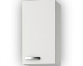 Wandkast Lagos White Glans (BxHxD) 30 x 57,6 x 34,6 cm O306-9