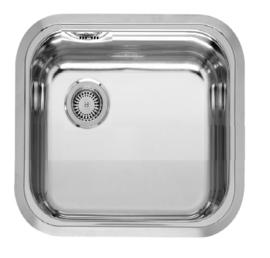 Keukenblok Neapel licht eiken ruw met rvs aanrecht en spoelbak 100 x 60 cm HRG-103