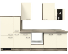 Keuken Excl. apparatuur. Eco wit 310 cm HRG-7365