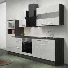Keuken York  Incl.  Inbouwapparatuur 270cm lang RAI-250