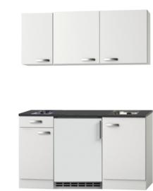 kitchenette 140cm met koelkast en kookplaat RAI-0004