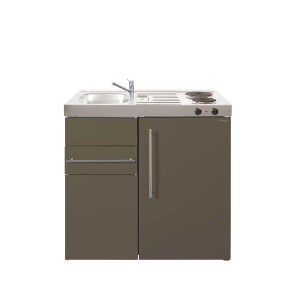 Mk 90 Met Koelkast En Een La Overloopgarnituur Sifon Nee Bedankt Rvs Keukens Keukenland