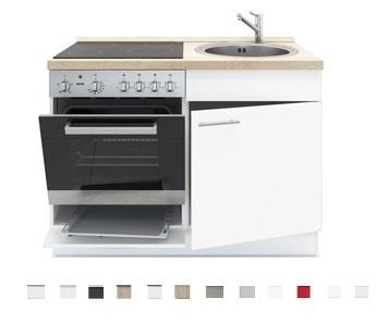 3 In 1 Keukenblok 120 X 60 Cm Incl Oven Kookplaat