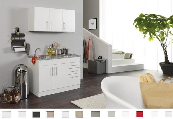 Keukenblok Toronto Eiken 150 cm Incl. E-kookplaat HRN-4399