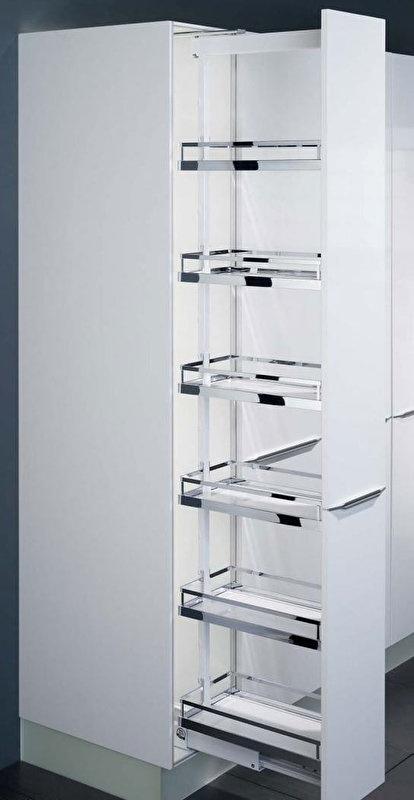 Apothekerskast 30cm X 200cm X 60cm Top Kwaliteit Incl Witte