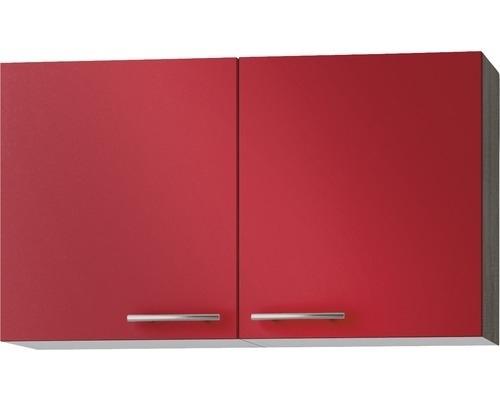 Wandkast Imola Rood (BxHxD) 100,0x57,6x34,6 cm OPTI-52