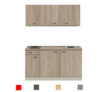 kitchenette 130 incl e-kookplaat RAI-3322