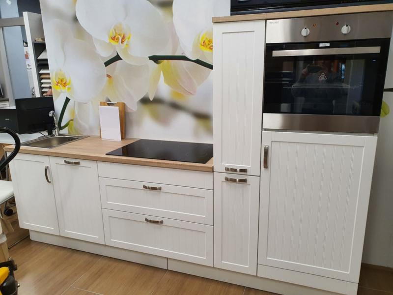Showroom keuken 270cm MDF incl apparatuur