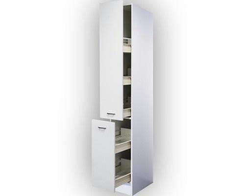 Apothekerskast klassiek wit (bxhxd) 30x206x57 cm RAI-5180