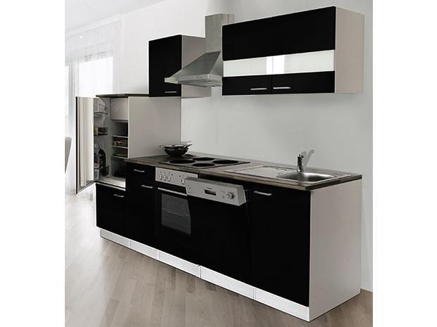 Keuken 280 Cm Incl Oven Kookplaat Vaatwasser Afzuigkap Koelkast En Spoelbak Hus 1169 Overloopgarnituur Sifon Nee Bedankt Keukens 280 Cm Keukenland