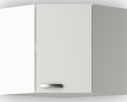 Hoek wandkast Lagos White satin (BxHxD) 60,0x57,6x34,6 cm OED606-9