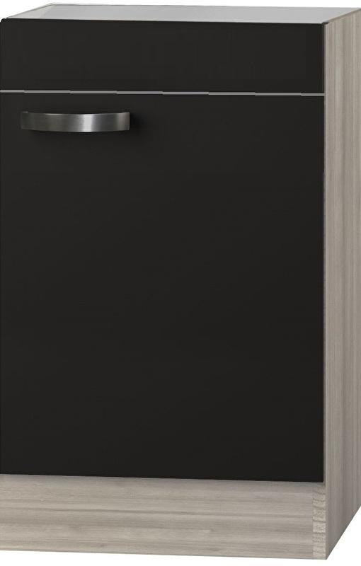 Spoelbak onderkast Faro Antraciet (BxHxD) 60,0x84,8x60,0 cm UC606-9-65