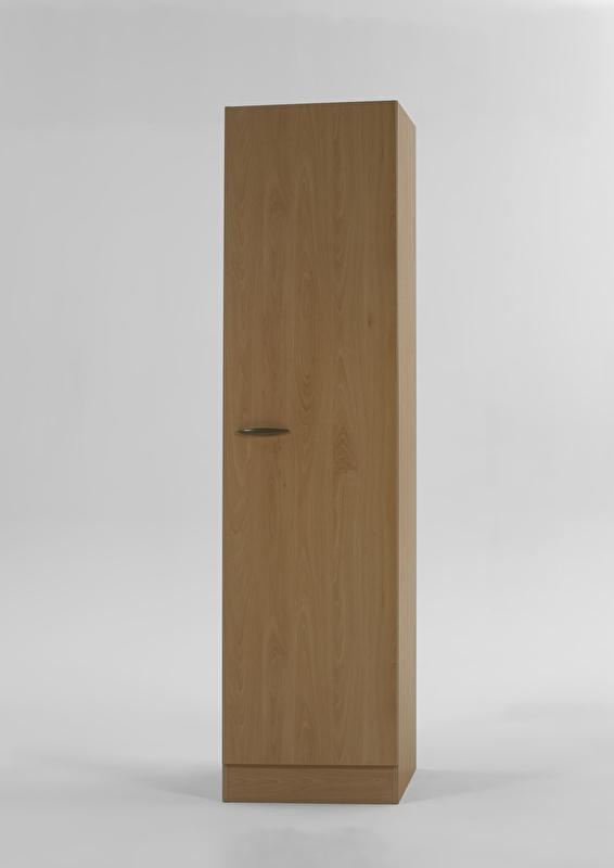 Hoge Kast Beuken Met Planken Bxh 50cm X 2068 Opti 57
