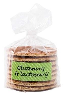 Gluten & lactose vrije stroopwafels