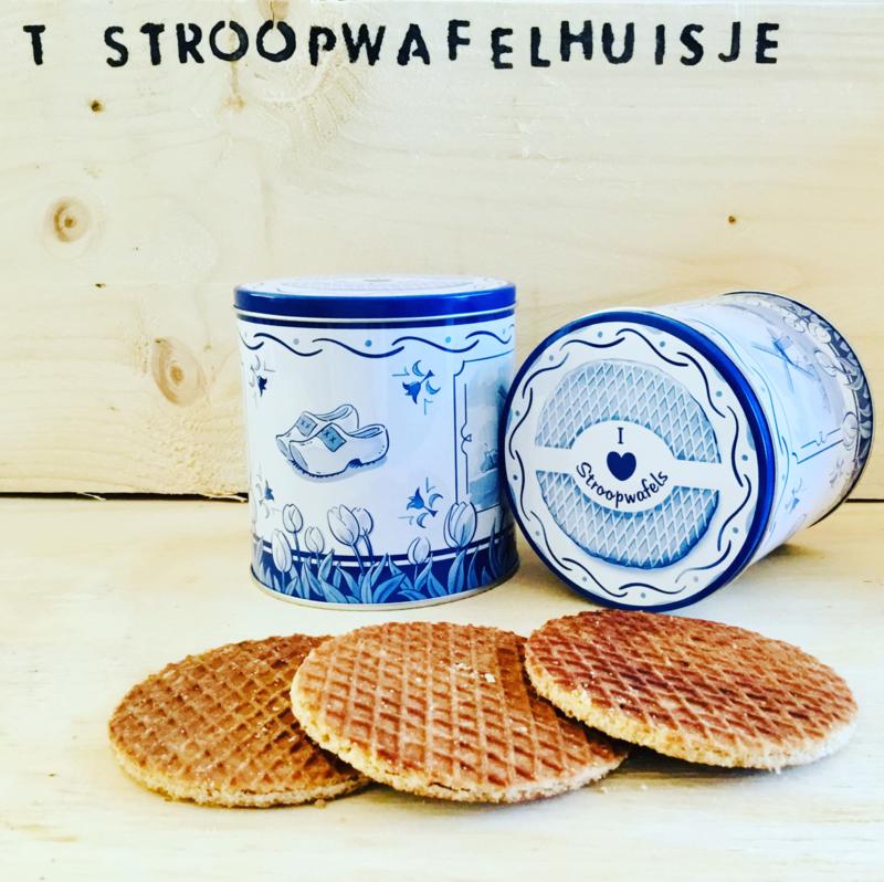 Cadeaublik; I love stroopwafels incl. pakje stroopwafels