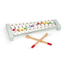 Janod Confetti xylofoon metaal 12 toetsen