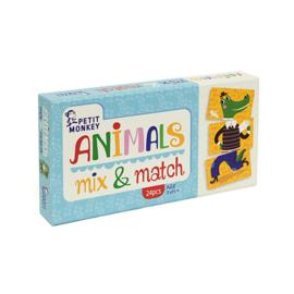 Petit Monkey Animals mix & match 3 jr+