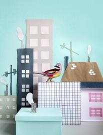 Studio ROOF / Kidsonroof Totem Pop Out kaart Vlaamse Gaai
