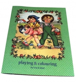 Froy & Dind speel- en kleurboek