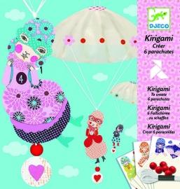 Djeco Kirigami Parachute Meisjesploeg