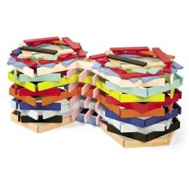 Janod Kubix 150 gekleurde plankjes