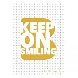 Bibelotte Little kinderkamer poster Smile 40x60 cm
