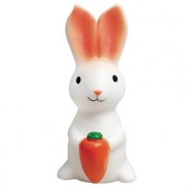 Nachtlampje (LED) konijn met wortel voor de kinderkamer