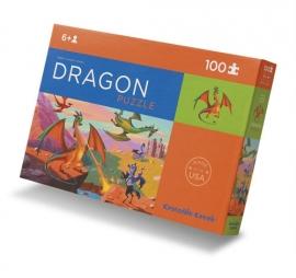 Crocodile Creek puzzel 100 stukjes 6+ Draak