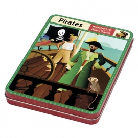 Mudpuppy magneetpuzzel Piraat
