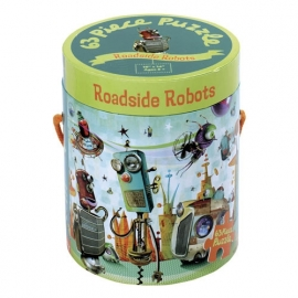 Mudpuppy puzzel 'Roadside Robots'