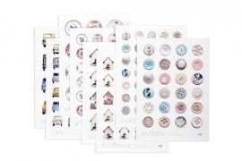 Studio Ditte Stickervellen