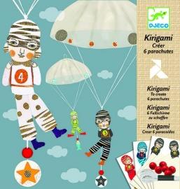 Djeco Kirigami Parachute Jongensploeg