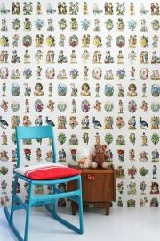 Studio Ditte Behang Poëzieplaatjes vintage