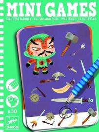 Djeco Mini Games 'Wat ontbreekt?'