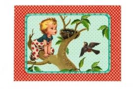 Froy & Dind ansichtkaart Voorjaar