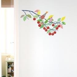 """Around the Wall muursticker kersentak """"Cerisier"""" klein"""