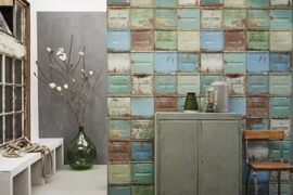 Studio Ditte Behang Container gemengd