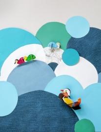 Studio ROOF / Kidsonroof Totem Pop Out kaart Mandarijneend