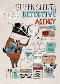 Rebecca Jones kinderkamer poster Super Sleuth 50 x 70