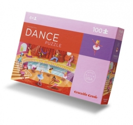 Crocodile Creek puzzel 100 stukjes 6+ Dance Studio