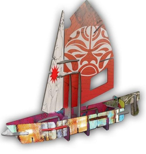 Studio ROOF / Kidsonroof Totem Sail
