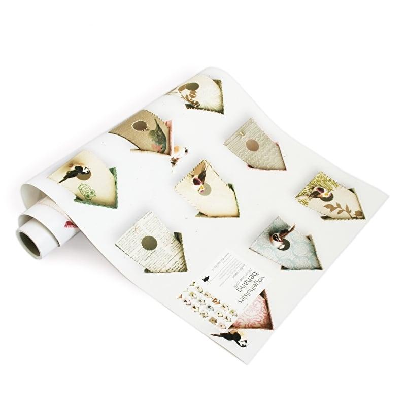 Vogeltjes Behang Lief.Studio Ditte Behang Vogelhuisjes Pastel Behang Blikken