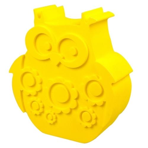 Blafre lunchbox uil geel