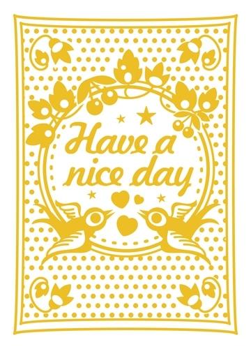 Miss Honeybird Ansichtkaart Have a Nice Day