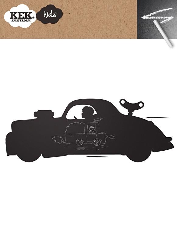 KEK Amsterdam Schoolbordsticker Raceauto