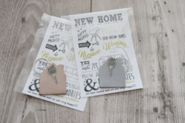 SLEUTELHANGER 'HUIS' | NEW HOME
